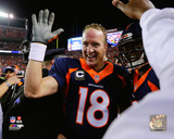 Peyton Manning celebrates 509th record-setting touchdown pass Photo