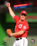 Jordan Zimmermann throws a No Hitter against the Miami Marlins on September 28, 2014 at Nationals P Photo