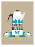 Caffeine Poster by Patricia Pino
