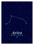 Aries Prints by Patricia Pino