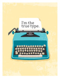 Typewriter Posters by Patricia Pino