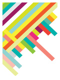 Spring Geometry Poster Posters par Patricia Pino