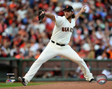 Madison Bumgarner Game 5 of the 2014 National League Championship Series Action Photo