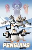 Penguins Of Madagascar - Cast Prints