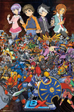 Little Battlers Experience - Lbx Collage Prints