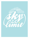 Sky is the Limit Plakat autor Patricia Pino