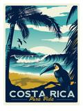 Costa Rica Schilderij van Matthew Schnepf