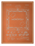 Darrow Monopoly Blueprint Print