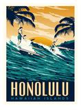 Honolulu Plakater af Matthew Schnepf