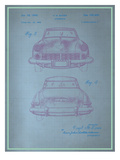 Studebaker Blueprint Prints