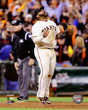 Pablo Sandoval celebrates winning Game 4 of the 2014 National League Championship Series Photo