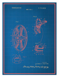 Film Reel Blueprint Prints