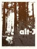 Alt-J Serigraph by Mike Klay