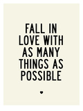 Fall In Love Prints