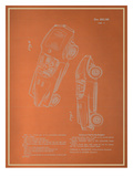 Automobile Blueprint Posters