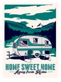 Camp Home Plakaty autor Matthew Schnepf