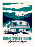 Camp Home Posters by Matthew Schnepf