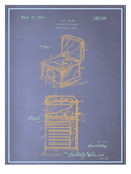 Phonograph Cabinet Blueprint Prints