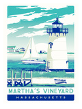 Martha's Vineyard Poster af Matthew Schnepf