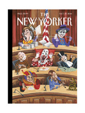 Fun and Games in Congress - The New Yorker Cover, October 27, 2014 Premium Giclee Print by Mark Ulriksen