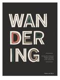 Wandering Affiches par  Kavan & Company
