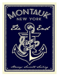 Montauk Anchor Posters by Matthew Schnepf