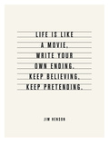 Keep Believing (Jim Henson) Prints