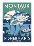 Montauk Fish Art by Matthew Schnepf