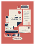 The Destination Prints by  Kavan & Company