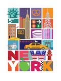 New York Kunst af Visual Philosophy