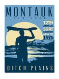 Montauk Contest Posters by Matthew Schnepf
