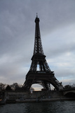 Eiffel Tower River Paris Photo 3 Art Print Poster Photo