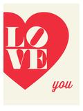 Love You Heart Art