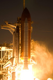Space Shuttle Discovery Launch Photo Poster Print - Reprodüksiyon