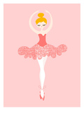 Ballerina Pointe Art by  The Paper Nut