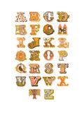 Alfabet Posters av  The Paper Nut