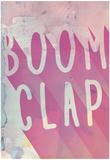 Boom Clap Print
