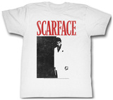 Scarface - Black And Red T-Shirts