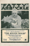 The Rough House Movie Roscoe Fatty Arbukle Buster Keaton Poster Print Photo
