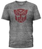 Transformers - Autobot Logo (slim fit) Koszulki