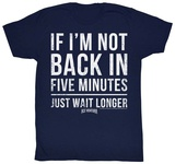 Ace Ventura - 5 Minutes T-shirts