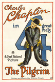 The Pilgrim Movie Charlie Chaplin Poster Print Prints