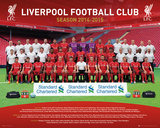 Liverpool Team 14/15 Posters