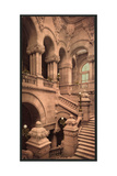 Staircase to the Capitol, Albany, N.Y. Giclee Print