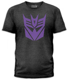 Transformers - Decepticon Logo (slim fit) Vêtements