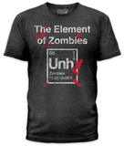 The Element Of Zombies (slim fit) T-shirts