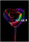 Lollipop Sucker Posters