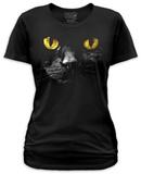 Juniors: Black Cat Shirt