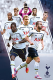 Tottenham Players 14/15 Poster
