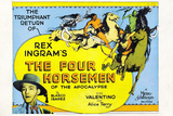 The Four Horsemen of the Apocalypse Movie Rudolphe Valentino Poster Print Prints